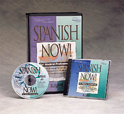 Spanish Now! for Medical Professionals CD-ROM