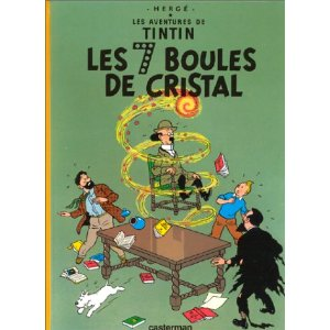 Tintin in French!