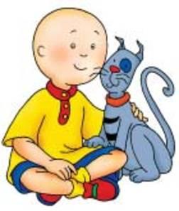 Caillou in spanish Espanol - Children's Cartoons