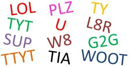 Text slang