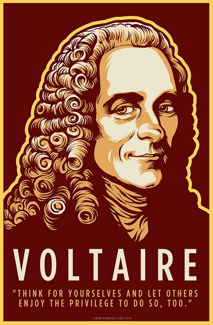 voltaire quote french: